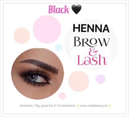 Afbeeldingen van Henna Lash & Brow ( zwart)