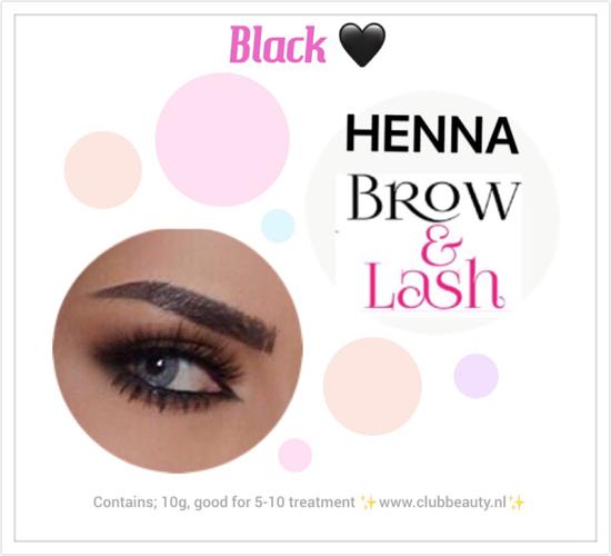 Afbeelding van Henna Lash & Brow ( zwart)