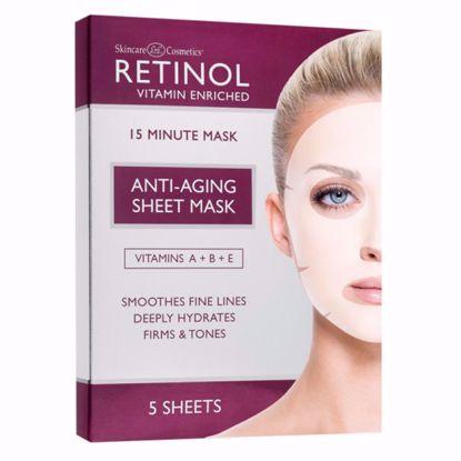 Afbeeldingen van RETINOL – ANTI-AGING SHEET MASK 5 PCS