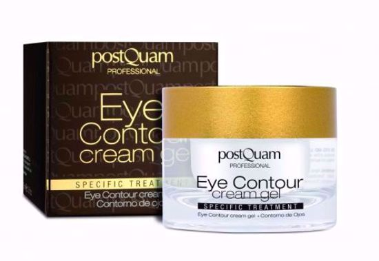 Afbeelding van PostQuam Eye Contour cream gel ( ogen en lippen )15 ml