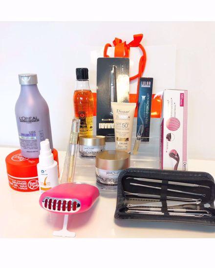 Afbeelding van Geschenk tassen en cadeautasjes, (Oranje linten )direct uit voorraad leverbaar